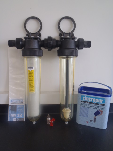 NW32 water filter and chlorine removal